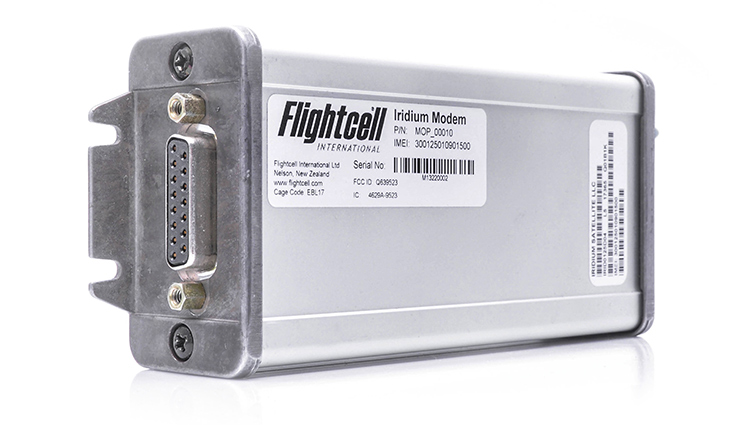 Flightcell Iridium Modem